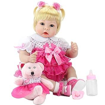 Amazon.com: Muñeca Aori Reborn 023, 22, Rosado: Toys & Games