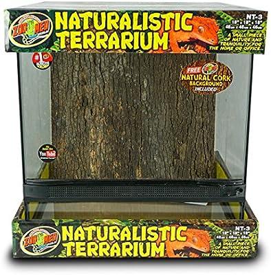 Zoo 45 X Cm Naturaliste Med Terrarium Pour Reptileamphibien 34ALcRq5jS