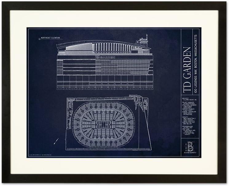 TD Arena青写真スタイル印刷 フレーム - ブラック 18\