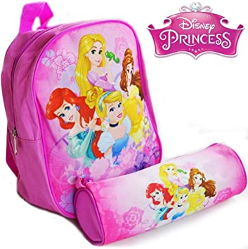 Trade Shop traesio Kit Princesas Disney Mochila y Estuche Original Disney Escuela: Amazon.es: Electrónica