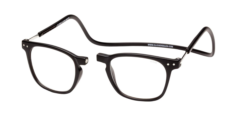 375321c5493f Amazon.com  Clic Magnetic Reading Glasses Manhattan in Black +1.50  Health    Personal Care