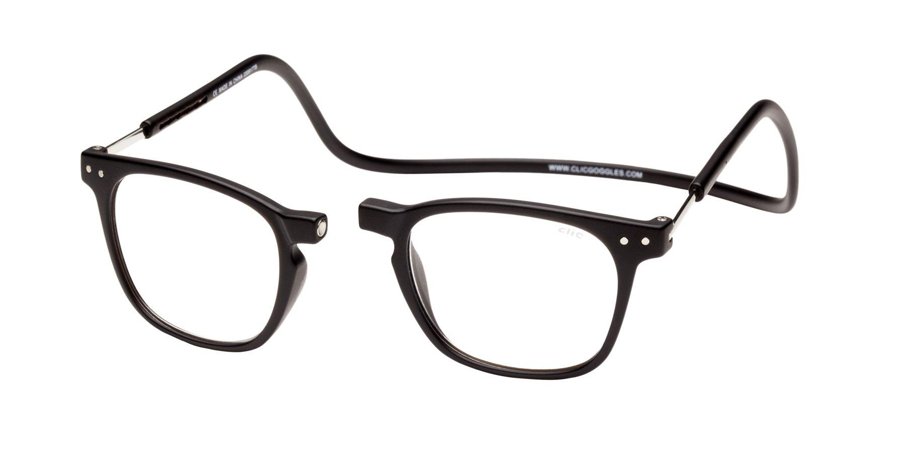 6d4b0176c64 Amazon.com  Clic Magnetic Reading Glasses Manhattan in Tortoise + ...