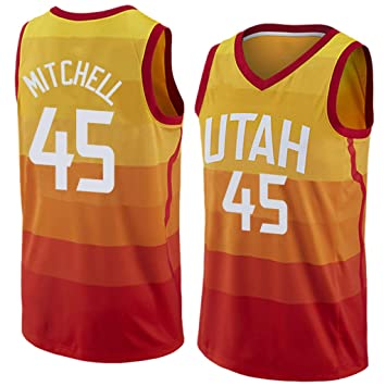detailed look 61940 fad98 Donovan Mitchell, Basketball Jersey, Jazz, City Edition, New ...