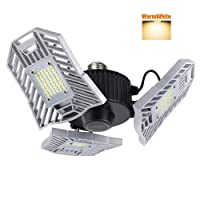 Deals on Mopzlink 60W 6000lm Garage Lighting