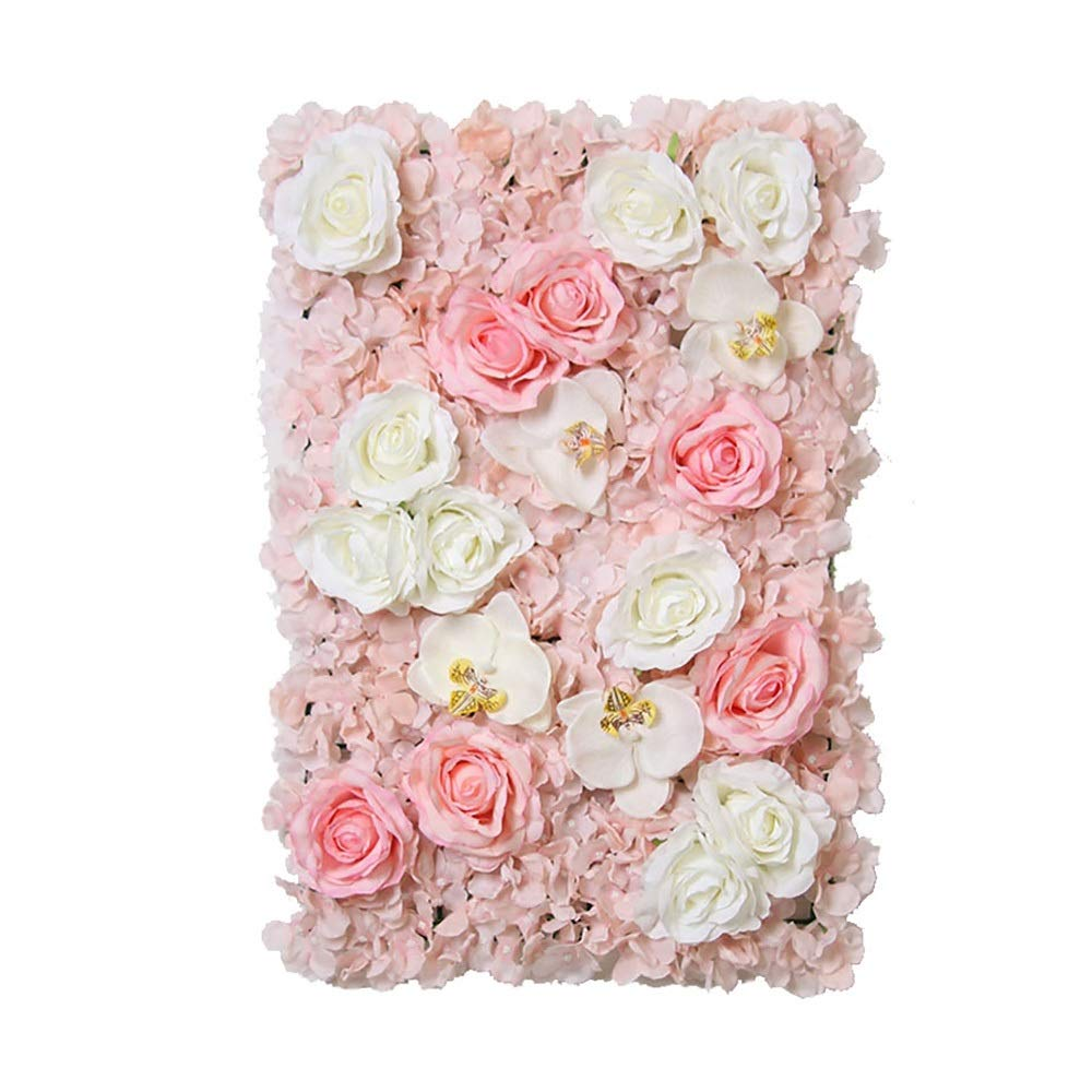 MS Furniture Living Room Background Wall Flower Wedding Background Wall Wall Decoration Pendant Creative Bedroom Room Background Wall Flower Insert Prop Decoration Fabric Restaurant Indoor Shop Jewelr by MS Furniture