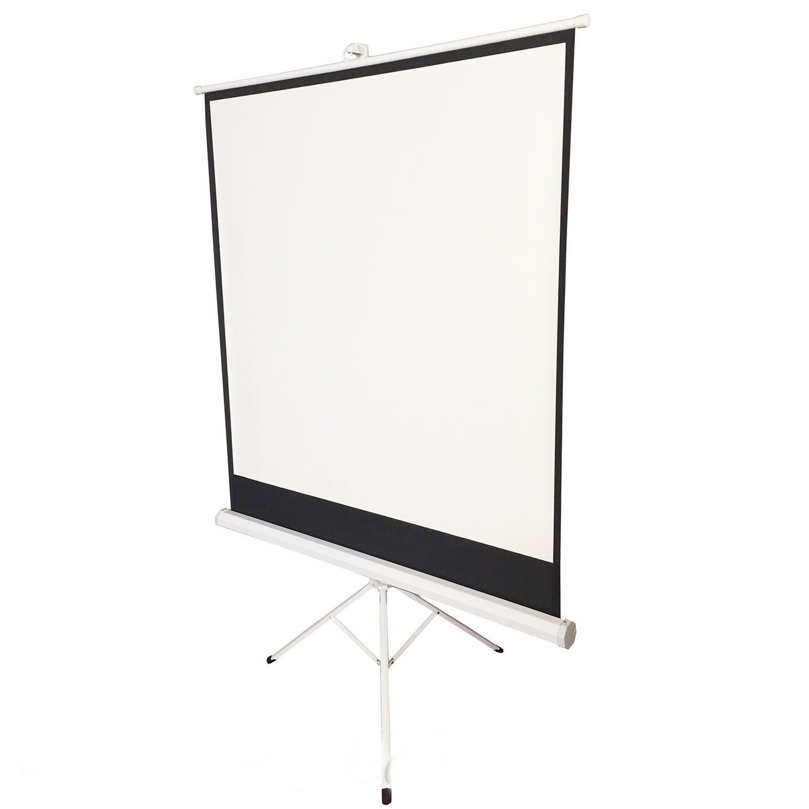 New 125x 125cm HD Matte Pull Down Projector Tripod Screen Home Cinema Projection+ FREE E-Book by Eight24hours