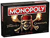 USAOPOLY MN004-123-17 Pirates of The Caribbean Ultimate Edition Monopoly Board Game, Multicolor