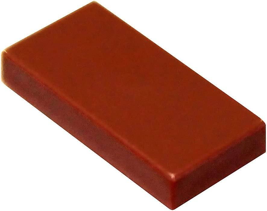 LEGO Parts and Pieces: Reddish Brown 1x2 Tile x20