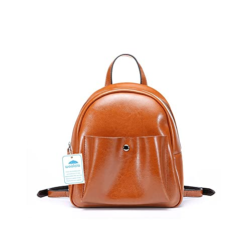a6f29705e05f Yoome Fashin Leather Backpack Hasp Zipper Bag Pure Simle Style Shoulder Bag  Crossbody Purse cracker khaki  Amazon.co.uk  Shoes   Bags