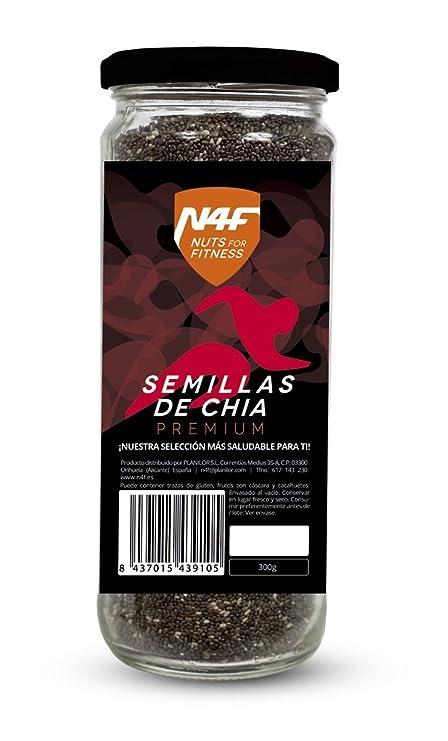 Semillas de chia premium (300g.) Nuts4Fitness: Amazon.es: Hogar