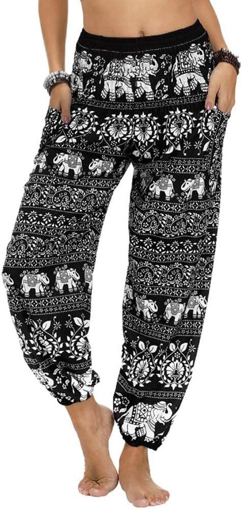 Nuofengkudu - pantalones de poliéster estampados