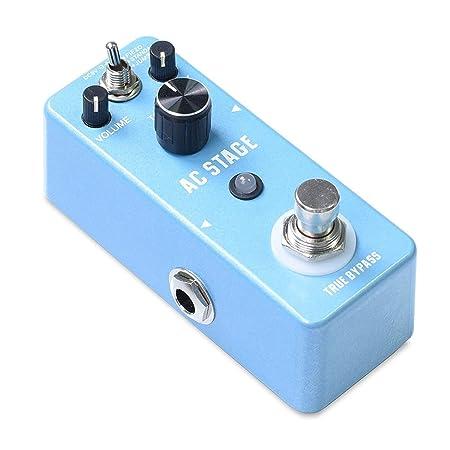 BU-SOH Guitarra Pedal de Efectos Simulador de Guitarra acústica de ...