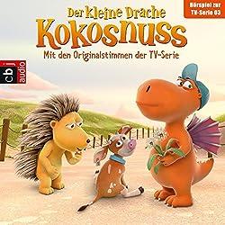 Der Drachengott / Der Wünsch-dir-was-Pilz / Der Ersatzspieler / Lauf, Kälbchen, lauf (Der Kleine Drache Kokosnuss - Hörspiel zur Serie 3)