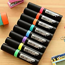 Katoot@ 8 pcs/lot STABILO neon Highlighter Cute Lipstick shaped marker pens for writing fluorescent pen kids gift office school supply