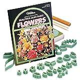 32 Piece Floral Collection Flower Making Set- Fondant or Gumpaste