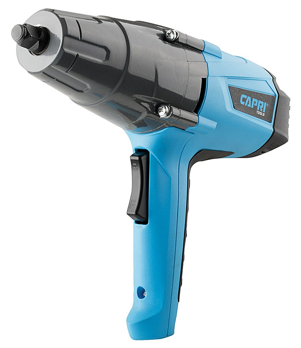 Capri Tools 32200 8.5 Amp 260 Ft. lb. Powerful Impact Wrench With 1/2'' Drive