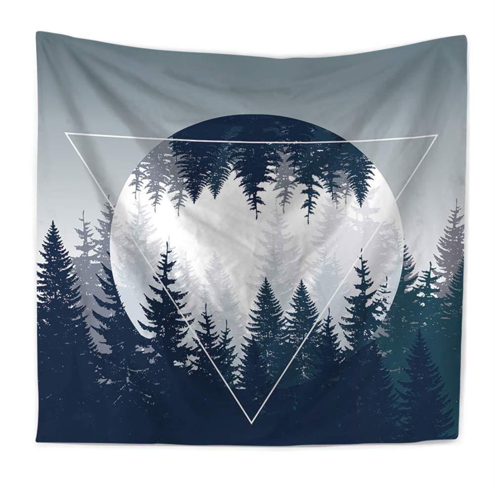 59W Pattern1 Natura foresta mistico arazzo da appendere alla parete coperta copriletto morbido scialle camera da letto Decor telo mare runner per decorazioni casa GT13 51H