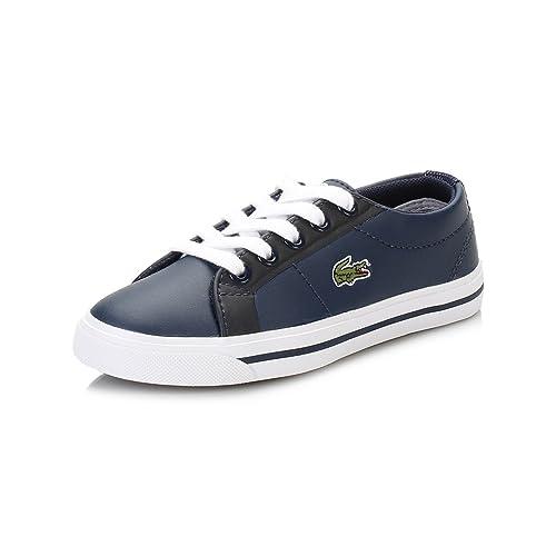 Lacoste Niños Azul Marino Marcel 316 1 Spc Zapatillas: Amazon.es: Zapatos y complementos