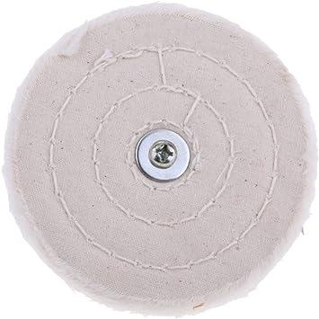 homyl pulir & schwabbel Discos de pulir pulidora 100% algodón para ...