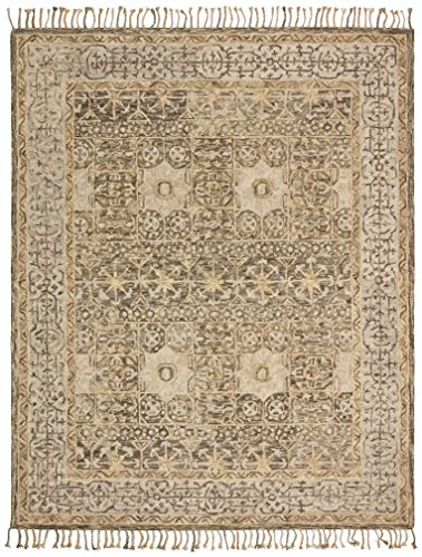 Stone & Beam Kelsea Transitional Wool Area Rug, 8' x 10', Beige and Grey by Stone & Beam (Image #7)