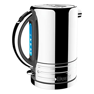 f196edf09053 Dualit Architect Steel Kettles, 1.5 L - Grey Trim Polished Body ...