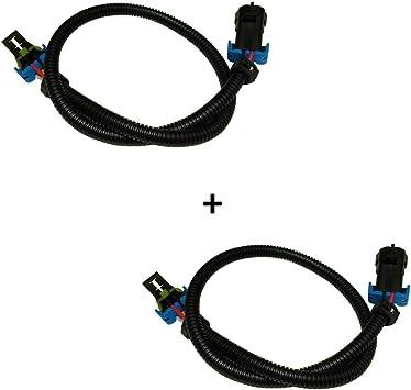 """Premium LS2 LS3 LS7 Oxygen O2 Sensor Header Extension Harness 24/"""" Camaro Vette"""