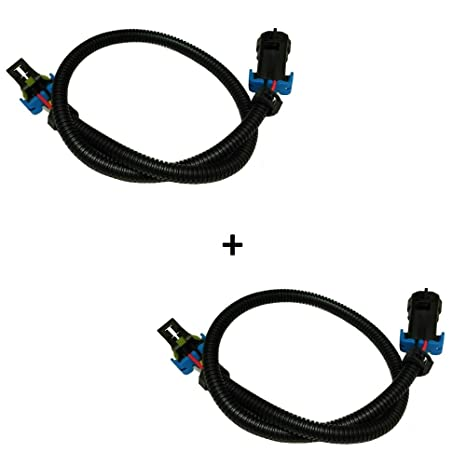 amazon com: c6 corvette oxygen o2 sensor extension harness full 24