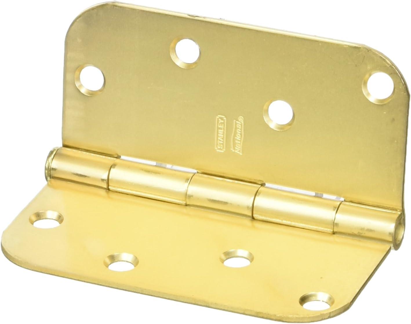 Satin Brass NATIONAL MFG//SPECTRUM BRANDS HHI N830-225 Door Hinge 4-Inch