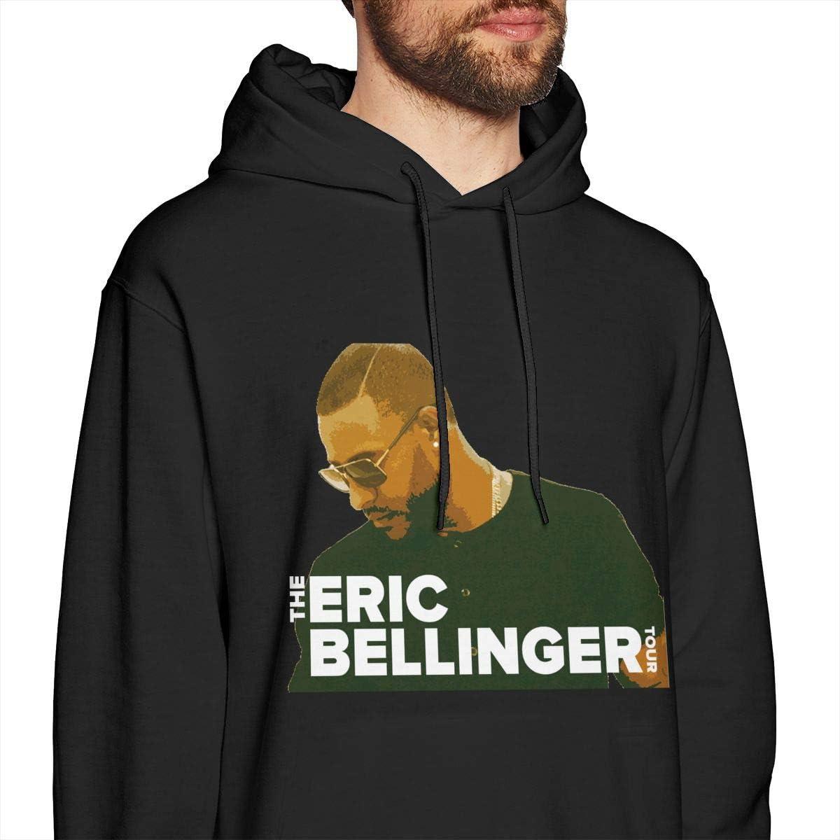 Dxfbdfxn Eric Bellinger Fashion Mens Long Sleeve Hoodie Top Black