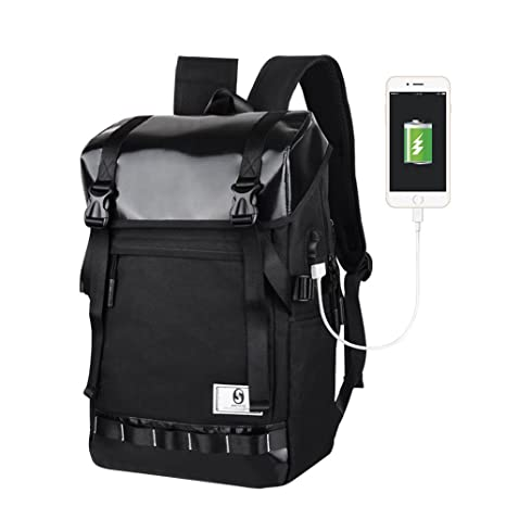 3379d4758ad9 Amazon.com : scaling- Knapsack Unisex Professional Slim Business ...