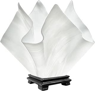product image for Jezebel Radiance VALA-FP16-WHC Flame Vase Lamp, Large, White Cloud
