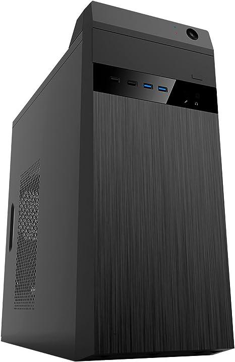 UNYKAch Umbrella Torre Negro 500 W - Caja de Ordenador (Torre, PC ...