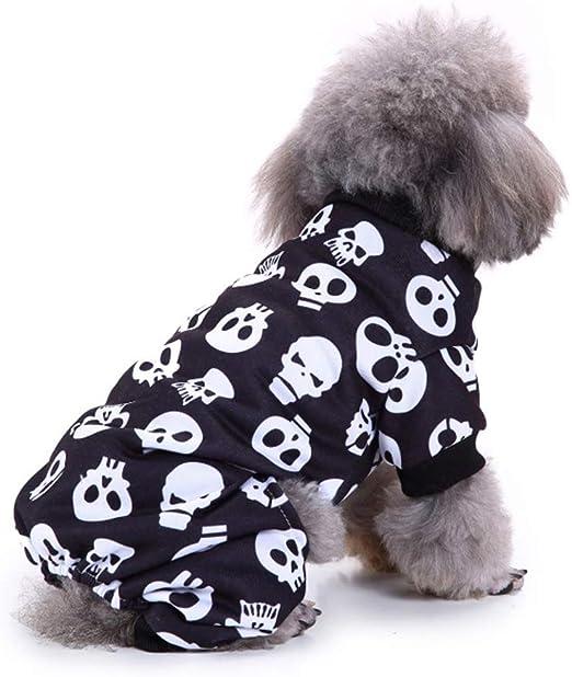 QNMM Disfraz de Halloween para Perro, Gato, Fiesta de Halloween ...