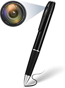 Spy Camera Pen 1080P - Hidden Camera with 32GB Memory Card, Spy Pen Camera with 150 Minutes Pen Battery Life, Mini Spy Camera Spy Cam with Picture Taking, Mini Camera for Home and Classroom Learning