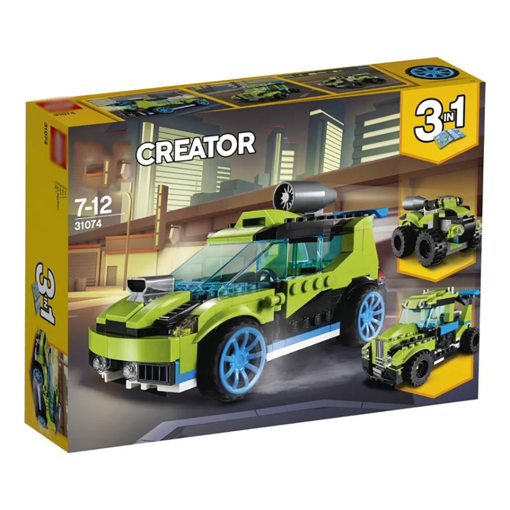 【本日特価】 創造的な素晴らしいビルディングブロック、ゲームレースの3種類、子供たちはおもちゃを持っている必要があります B07QZP8295 B07QZP8295, ラブリ:46933c1d --- vezam.lt