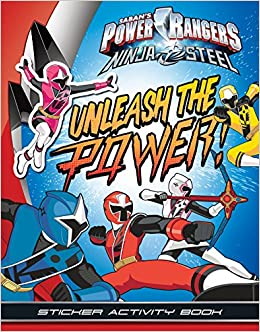 Unleash the Power! Sticker Activity Book Power Rangers Ninja ...