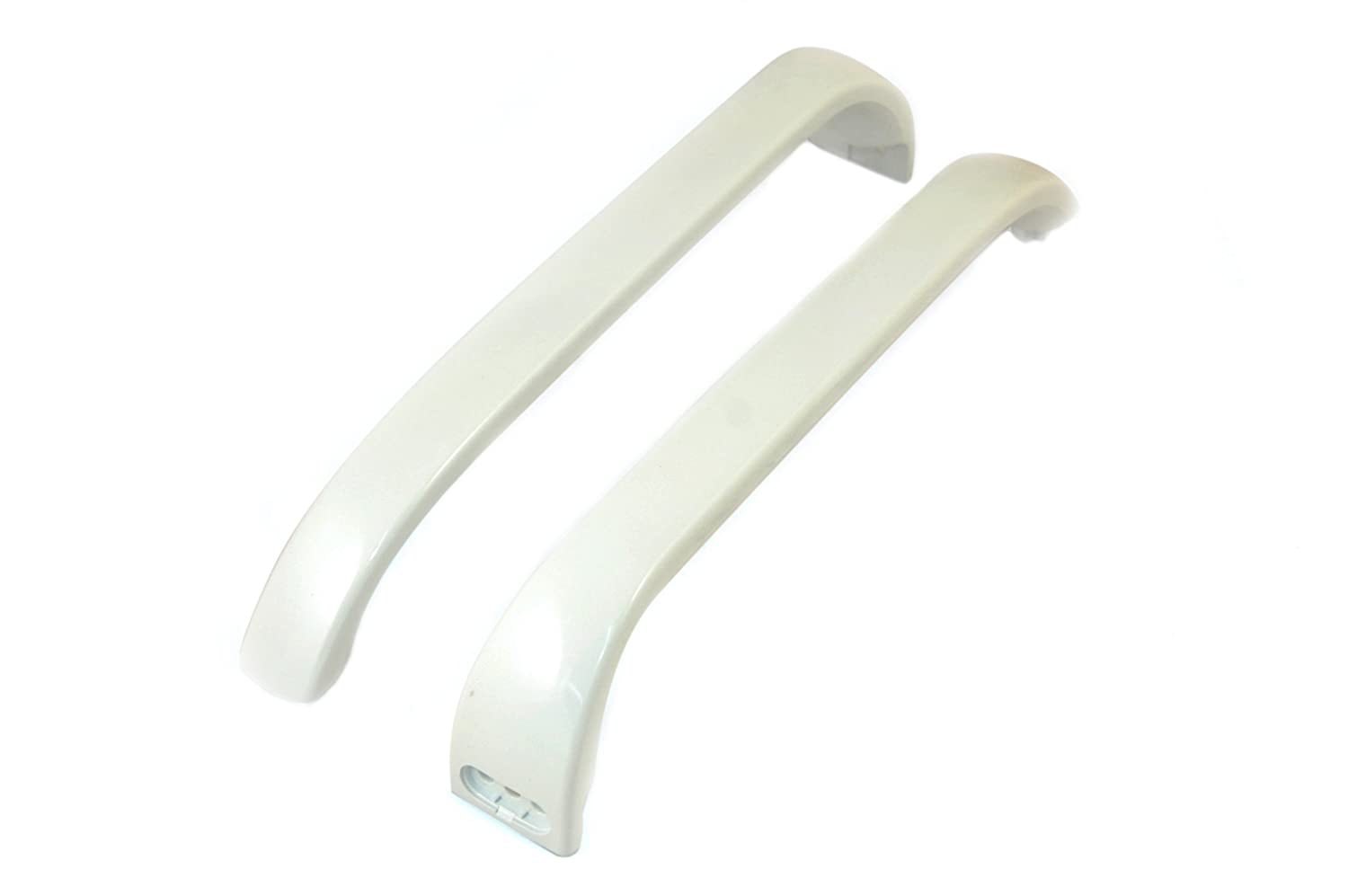 Bosch White Fridge Freezer Door Handles. Genuine part number 369542
