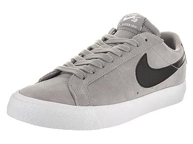 Nike Mens SB Blazer Zoom Low Dust/Black/White Skate Shoe 5 Dust/