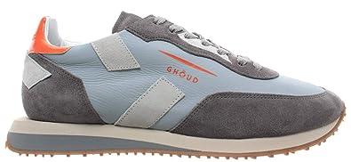 pretty nice a4f3f 495fe GHOUD Venice Herren Schuhe Sneakers Niedrig Leder Hellblau ...