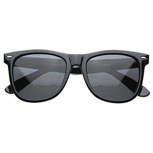59011d08f0282 Image Unavailable. Image not available for. Color  MLC Eyewear Vintage 80 s  Retro Classic Horn Rimmed Polarized Unisex ...