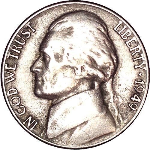 1949 Jefferson Nickel 5C Very Fine (Mint Nickel Ngc Jefferson)