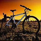 Blue LED Strip Tape Lights for Bike Frame