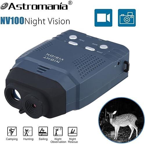 Astromania Portable Digital Night Vision Monocular New Optics Records Video Image with Micro Sd Card