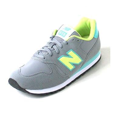 promo code a0741 733f5 New Balance Unisex Children's KJ373 Sneakers Grey Size: 3 ...