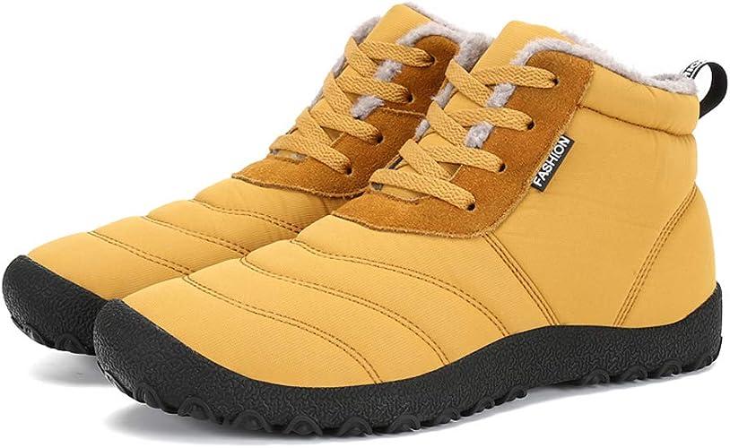 Mens Winter No cotton//Fur-inside Sock Shoes Leisure Ankle Snow Sneaker Size 47