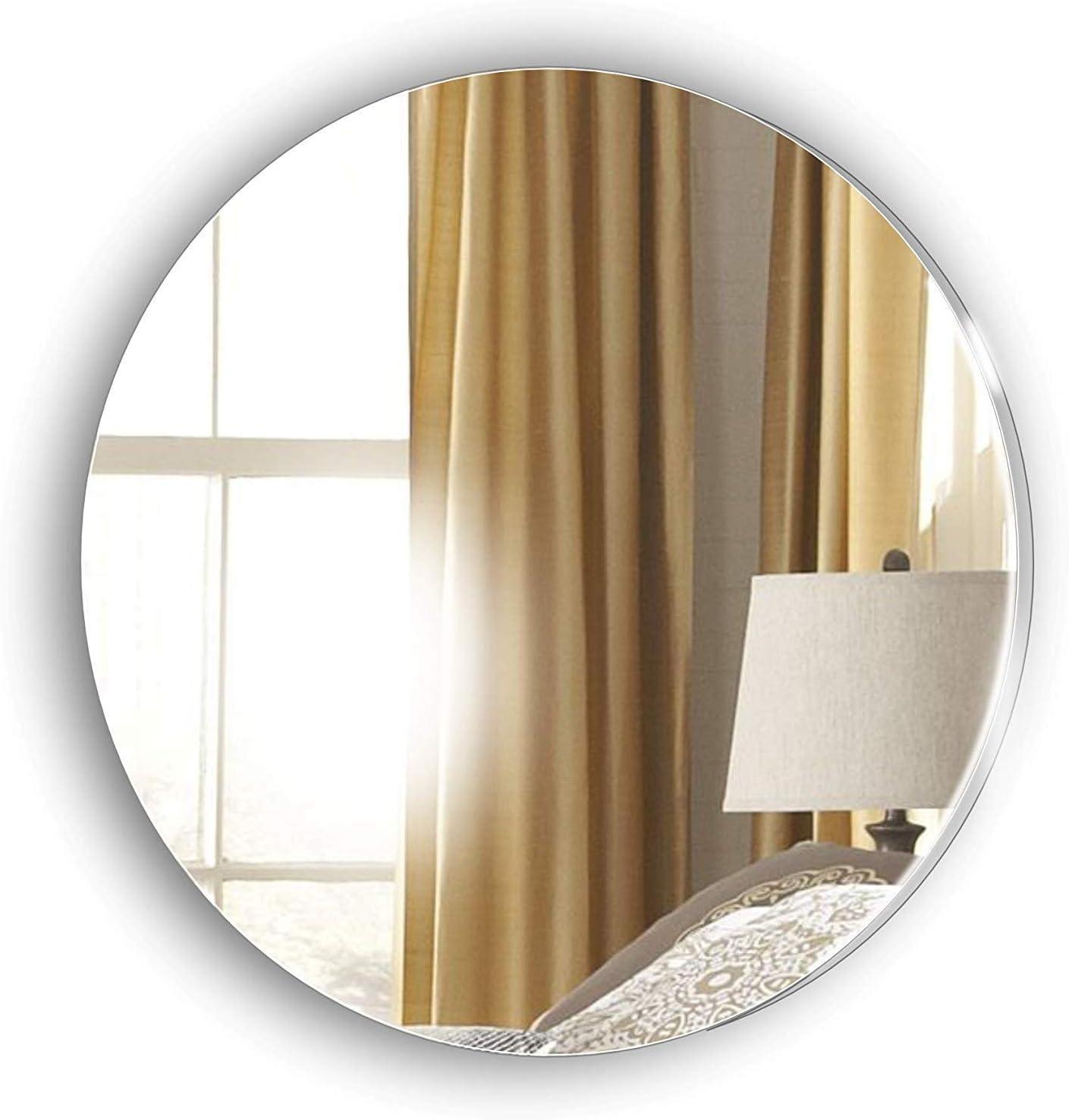 Decorative Circle Mirror Make Your Design Contemporary Creative Ideas Bedroom Living Room Hallway Any Room Amazon Co Uk Kitchen Home