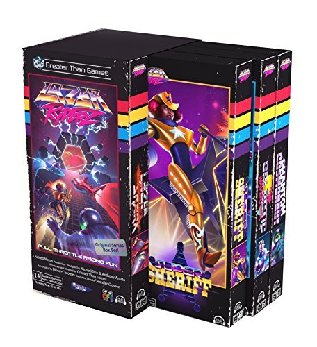 Greater Than Games Lazer Ryderz Board Game]()