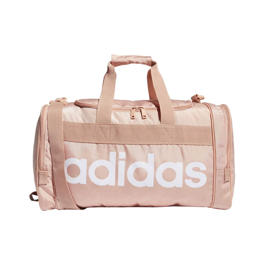 adidas Santiago Duffel Bag, Dust Pink/White, One Size