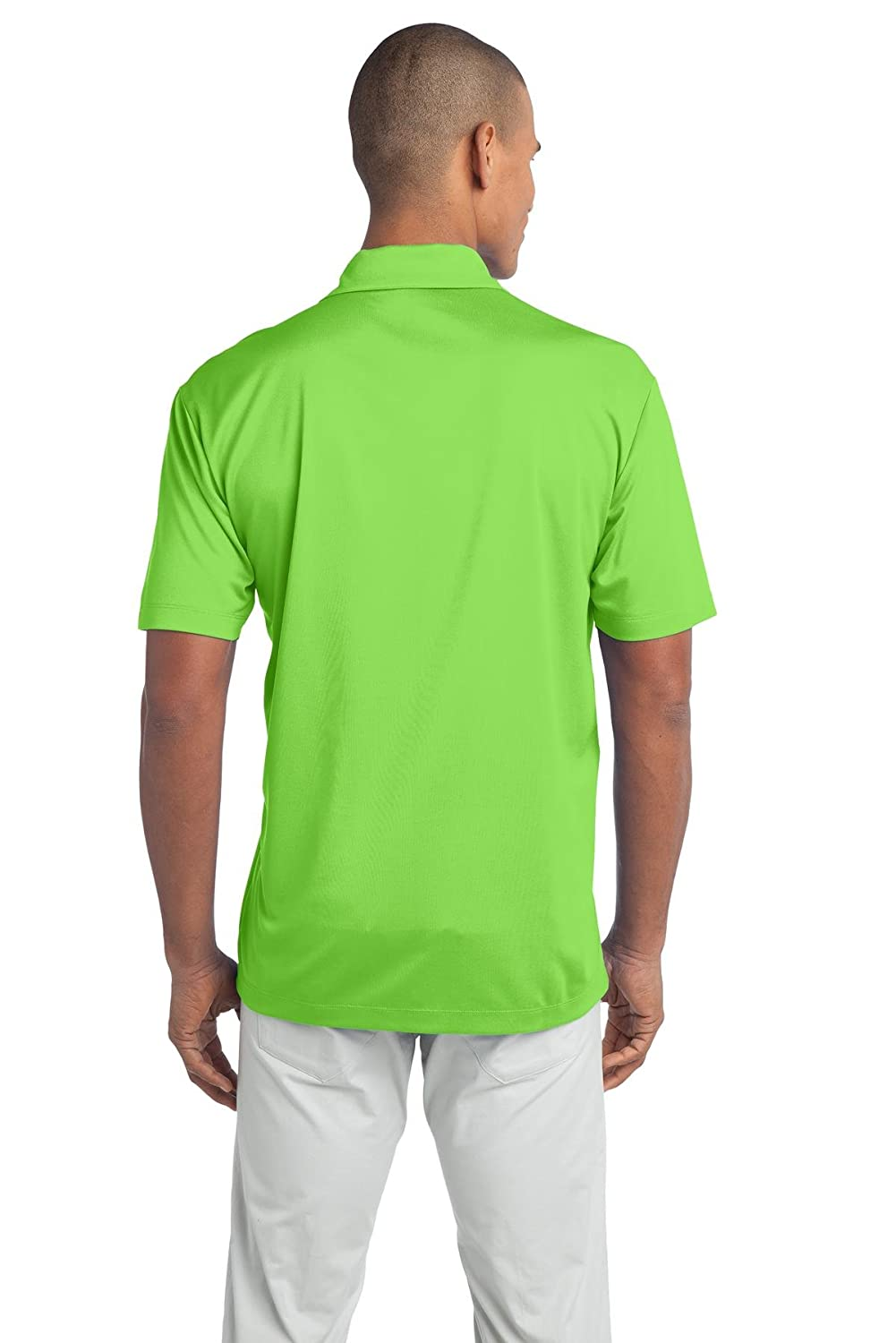Port Authority Tall Silk Touch Performance Polo 2XLT Lime