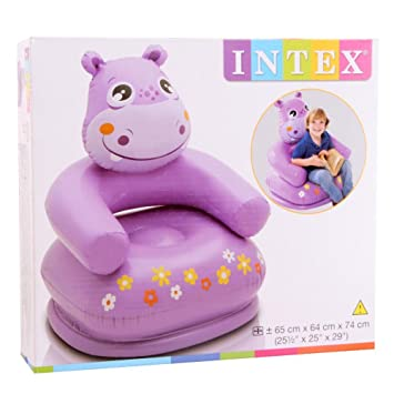 High Quality Shopcrazzy Hippo Chair For Kids (Air Filled)